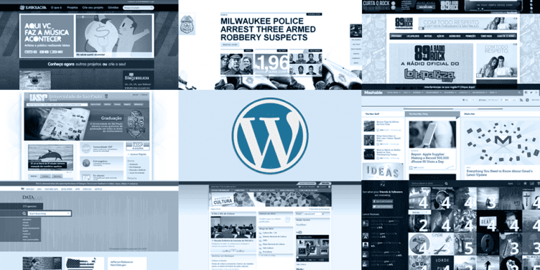 10 grandes sites feitos com WordPress
