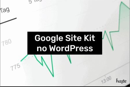 Google Site Kit no WordPress. Imagem ilustrativa.