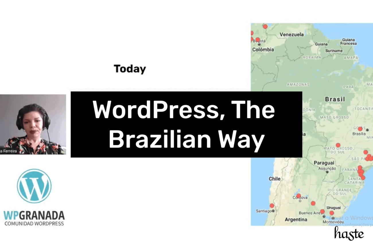 WordPress, The Brazilian Way. Imagem ilustrativa.