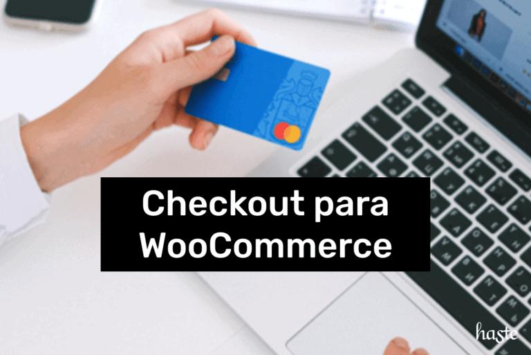 Checkout para WooCommerce. Imagem ilustrativa.