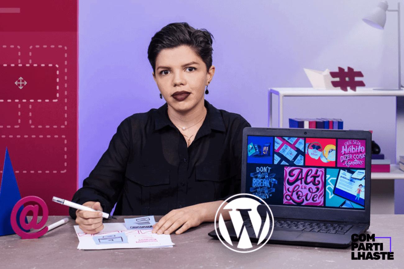 Curso de WordPress para iniciantes com Anyssa Ferreira