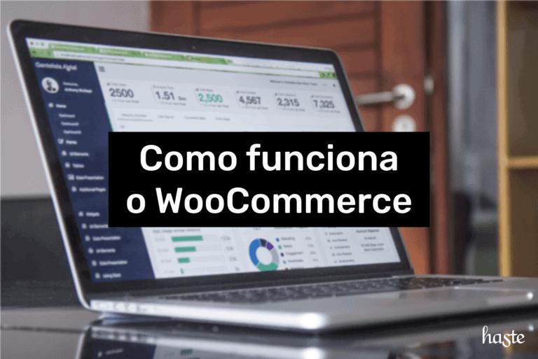 Como funciona o WooCommerce. Imagem ilustrativa.