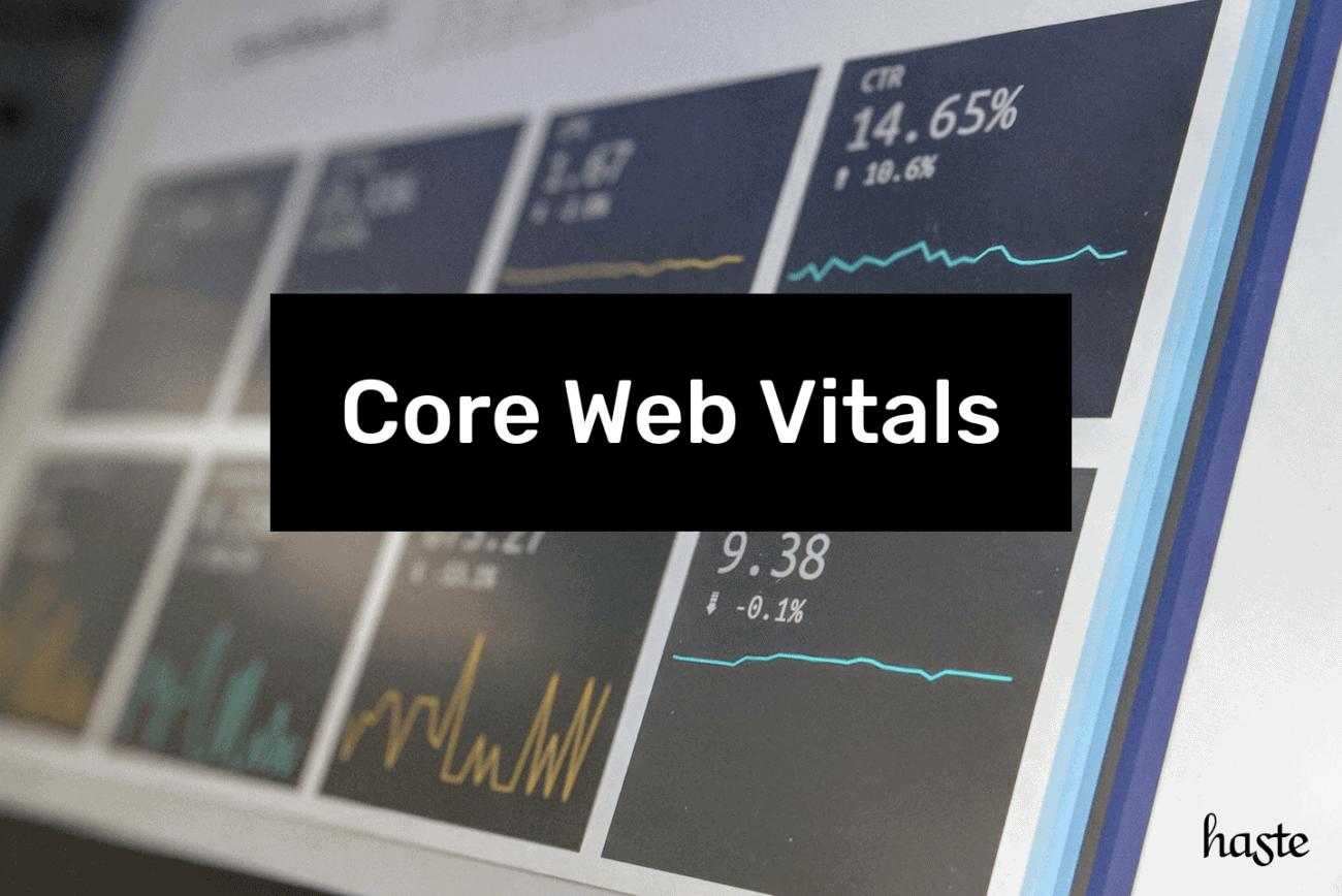 Core Web Vitals. Imagem ilustrativa.