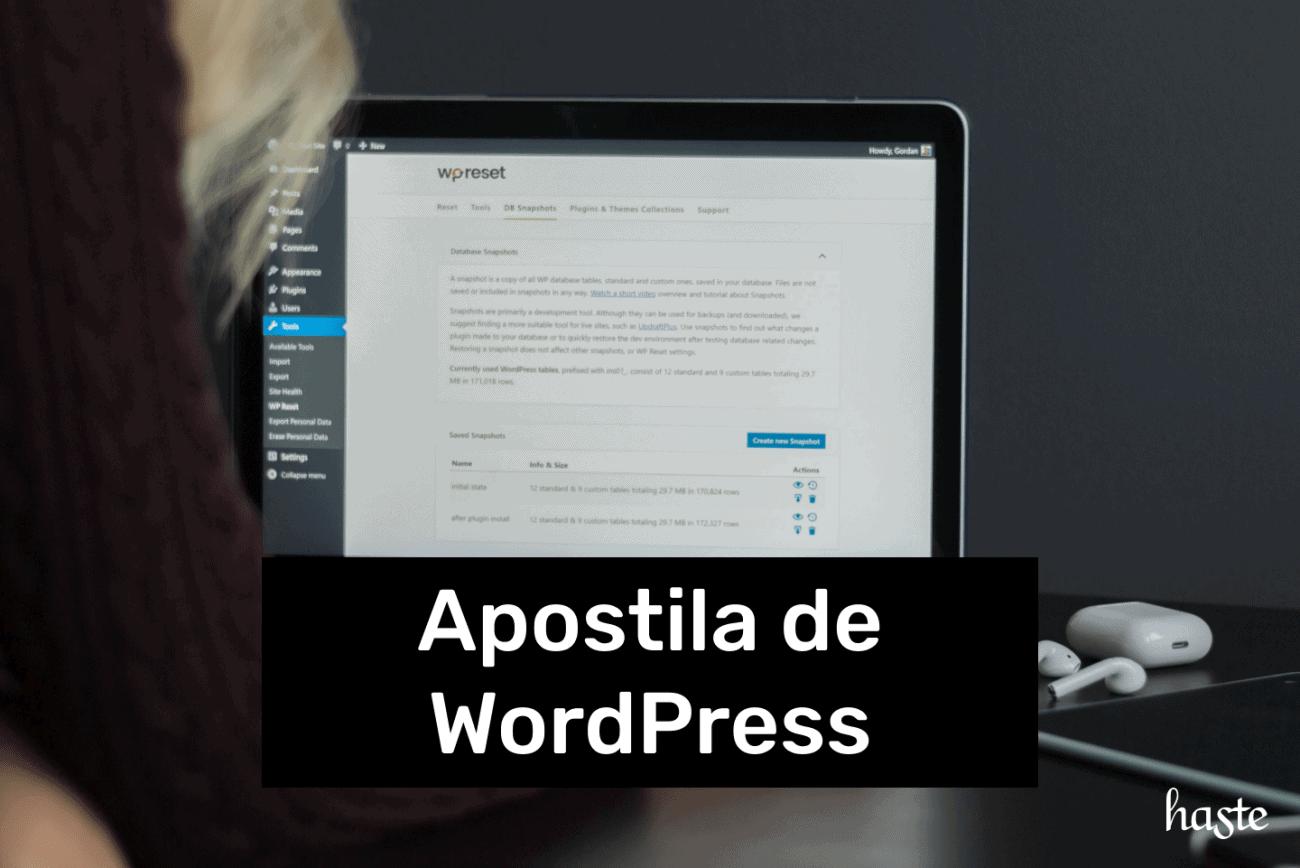 Apostila de WordPress
